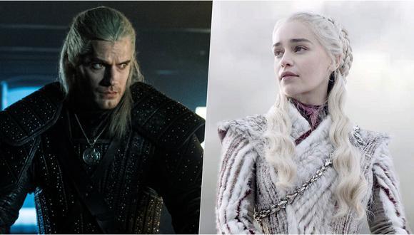 """""""The Witcher"""" y """"Game of Thrones"""" si bien comparten un setting similar, son como la noche y el día. Fotos: Netflix/ HBO."""