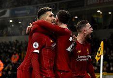Liverpool derrotó 2-1 a Wolverhampton por la jornada 24 de la Premier League