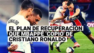 El plan de recuperación post partido de Cristiano Ronaldo que también sigue Kylian Mbappé
