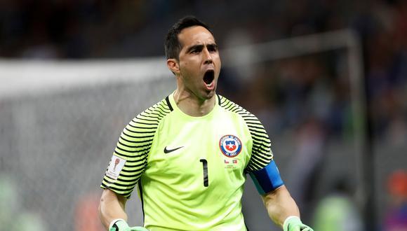 Claudio Bravo tomó la palabra luego de las indicaciones de Juan Antonio Pizzi. El golero chileno le dio ánimos a sus compañeros con esta vibrante arenga en Arena Kazán