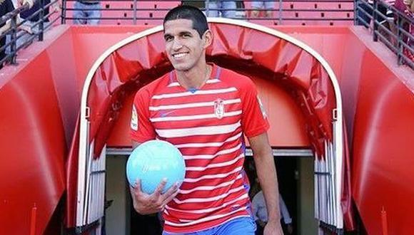 Luis Abram tiene contrato en Granada hasta mediados del 2024. (Foto: Granada)