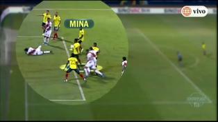 Perú vs. Colombia: Mira el gol en contra de Yerry Mina