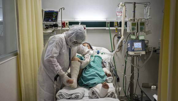 Coronavirus en México   Ultimas noticias   Último minuto: reporte de infectados y muertos hoy, sábado 25 de julio   Covid-19   (Foto: PEDRO PARDO / AFP).