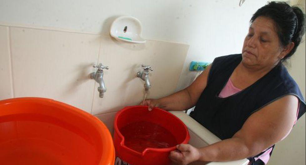 Corte de agua afectará hoy distritos de Lima y el Callao