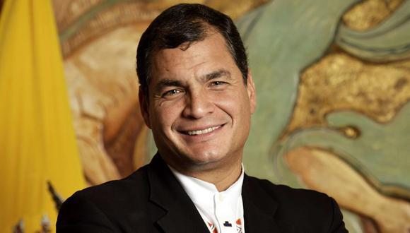El ex presidente ecuatoriano sostiene una disputa con el actual mandatario, Lenín Moreno, por el control del oficialismo. (Foto: AFP)