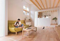 Una casa oriental de 83m2 con ambientes simples y depurados | FOTOS