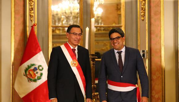 La ratificación del ministro de Educación, Martín Benavides, en el equipo del primer ministro Walter Martos no es vista con buenos ojos en el Congreso de la República. (Foto: Hugo Curotto / GEC)