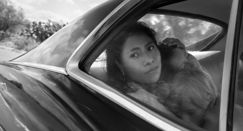 """Yalitza Aparicio en """"Roma"""". (Foto: AP)"""
