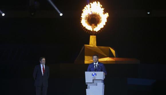 A la ceremonia de clausura de Lima 2019 en el Estadio Nacional asistieron los atletas de los 41 países y territorios americanos que compitieron en los Juegos Juegos Panamericanos. (Foto: AFP)
