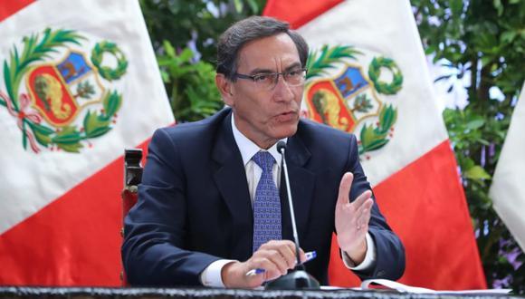 El presidente Martín Vizcarra instó que el estado de emergencia no son 15 días de vacaciones. (Foto: GEC)