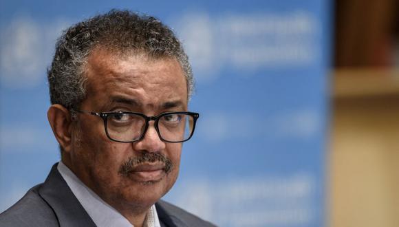 Coronavirus: Tedros Adhanom Ghebreyesus, director general de la OMS. (Foto: Fabrice COFFRINI / POOL / AFP).