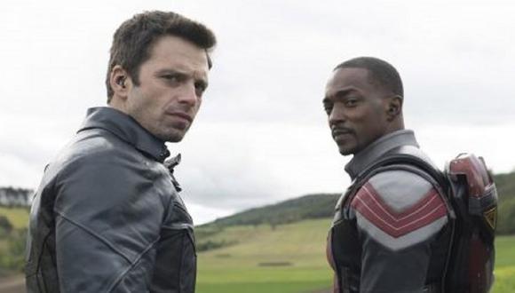 Sam y Bucky aceptan regresar a la ciudad en el vehículo militar de John Walker, pero las cosas no resultan bien (Foto: Disney+/ Marvel)