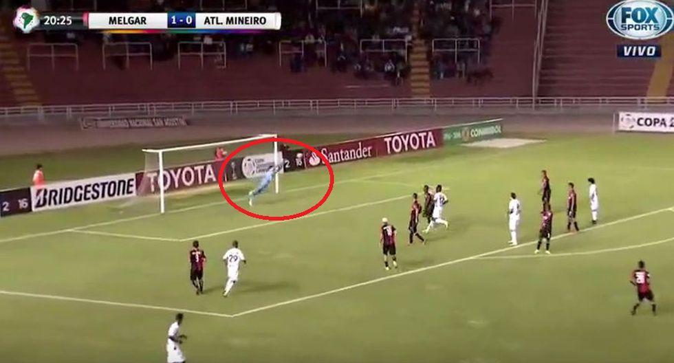 Los errores de Melgar en los goles de Atlético Mineiro - 4