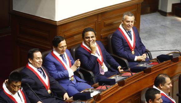 No cesan los problemas en la bancada de Unión por el Perú, cuyo vocero es José Vega (Foto: Congreso)