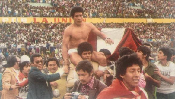 Perú ya había clasificado al mundial de 1970 y 1978, pero recién en las Eliminatorias de España 82 pudo celebrar la clasificación en casa por primera vez. Luego repitió ante Nueva Zelanda en el 2017. (Foto: Archivo El Comercio)
