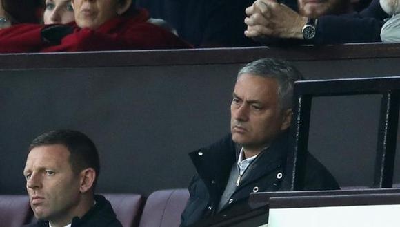 José Mourinho fue expulsado en duelo ante Burnley por protestar