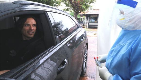 Futbolistas paraguayos pasaron pruebas de COVID-19 (Foto: APF)