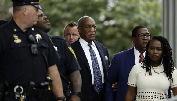 El actor estadounidense Bill Cosby fue condenado este martes a entre tres y diez años de cárcel por agresión sexual.   Foto: AP
