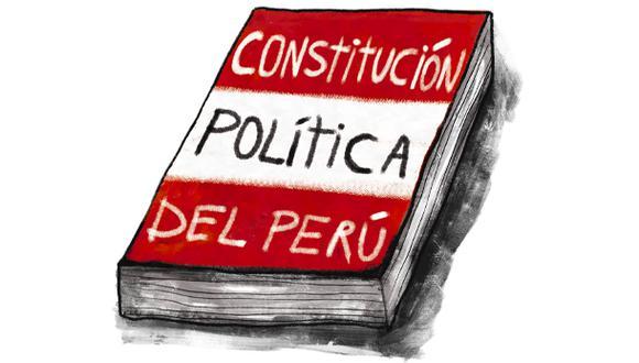 """""""La Constitución, en el sentido amplio, la hacemos nosotros y la podemos mejorar nosotros"""". (Ilustración: Giovanni Tazza)"""