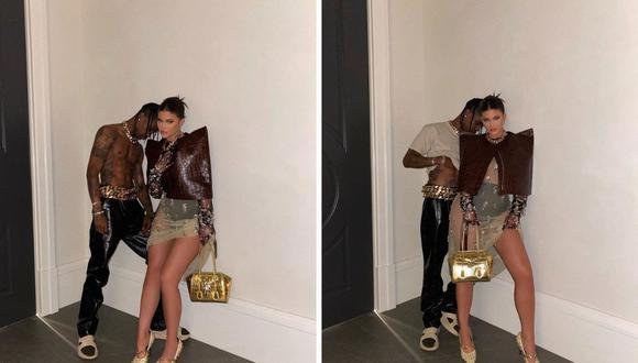 Kylie Jenner y Travis Scott dan que hablar entre rumores de una reconciliación. (Foto: Instagram / @kyliejenner).