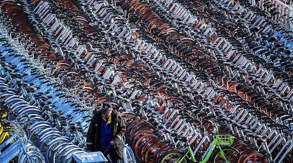 Boom de bicicletas compartidas ocasiona molestias en China - 4