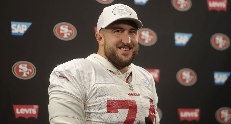 San Francisco 49ers | Joe Staley: Salario anual aproximado de US$ 11'468,750. Posición: Left Tackle. (Foto: AP)