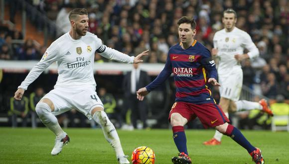 Barcelona y Real Madrid jugarán el primer 'Clásico' de la temporada en el Camp Nou. (Foto: AFP)