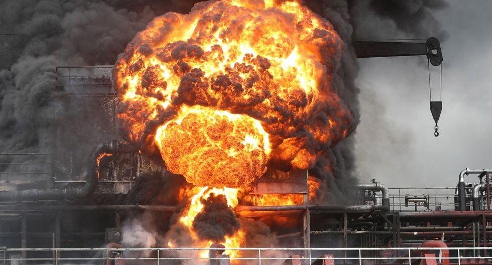 Doce marineros resultaron heridos, al igual que seis socorristas, informó la agencia de noticias de Corea del Sur Yonhap. (Foto: EFE)