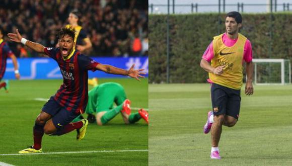 Luis Suárez debutará mañana con Barcelona y Neymar reaparecerá