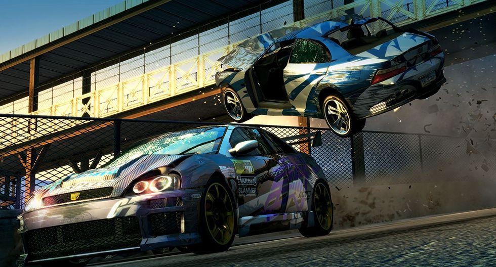 3. Burnout Paradise Remastered. Disponible para PC (Windows), Xbox One y PS4.