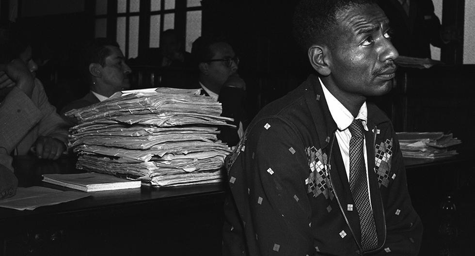 Foto: Juicio a Jorge Villanueva realizado en setiembre de 1956. Foto: Archivo Histórico El Comercio