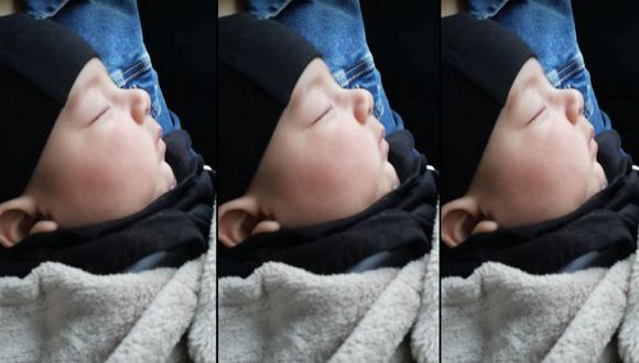 Lo que aprende un hombre cuando tiene un bebé de 3 meses, por Abraham Taipe. FOTO: Archivo familiar.