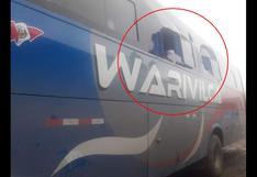 Huancavelica: asaltan cinco buses interprovinciales y balean a pasajeros