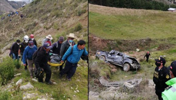 El accidente sucedió la madrugada del domingo 7 de marzo. (Foto: PNP)