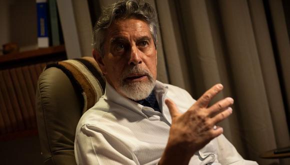 """Para el congresista Francisco Sagasti, el gabinete encabezado por Ántero Flores-Aráoz """"no tiene la confianza ni de la ciudadanía ni de nuestra bancada"""". (Foto: Renzo Salazar/GEC)"""