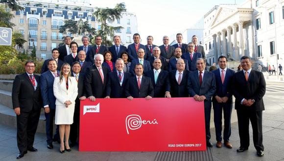 La delegación de inPERU culminó hoy su visita por Madrid. (Foto: inPERU)