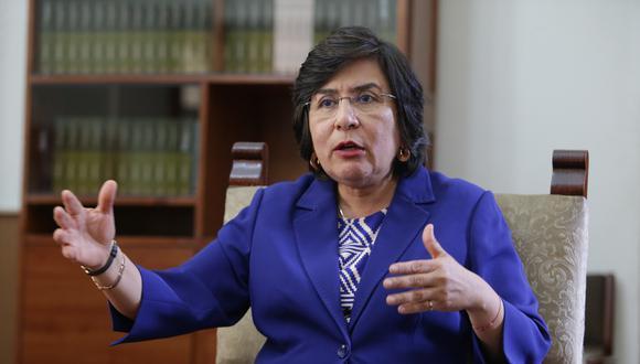 Marianella Ledesma y el resto de miembros del TC votaron la ley de ONP como inconstitucional. (Foto: GEC)