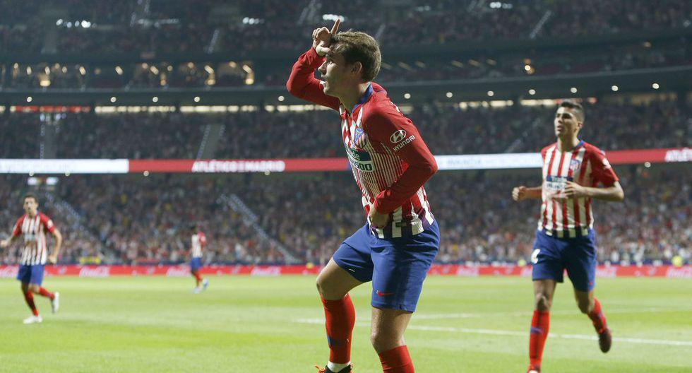 En el Atlético Madrid vs. Brujas, Antoine Griezmann decretó la ventaja inicial luego de una excelente organización por parte del mediocampo colchonero. (Foto: EFE)