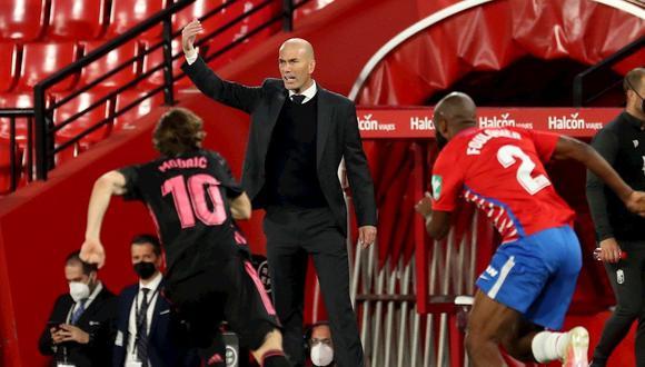 Zidane cumple su segunda etapa en el Real Madrid desde la temporada 2019. (Foto: EFE)