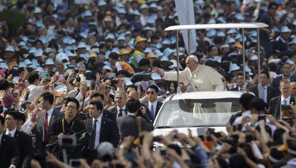 El Papa beatifica a 124 mártires surcoreanos en Seúl