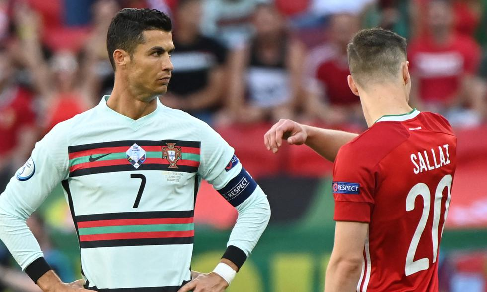 Portugal vs. Hungría juegan por la Eurocopa 2021. Foto: AFP