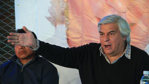 Olivera vuelve a la escena política. (Foto: GEC)