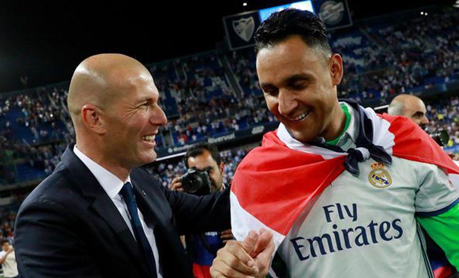 La revolución de Zinedine Zidane en el Real Madrid ha empezado. Así como le dio una oportunidad valiosa a Isco contra el Celta de Vigo, también se la brindó a Keylor Navas. (Foto: EFE)