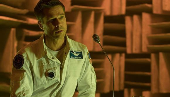 """Brad Pitt en """"Ad Astra"""". (Foto: Difusión)"""