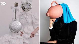 Arte y moda confeccionada con comida