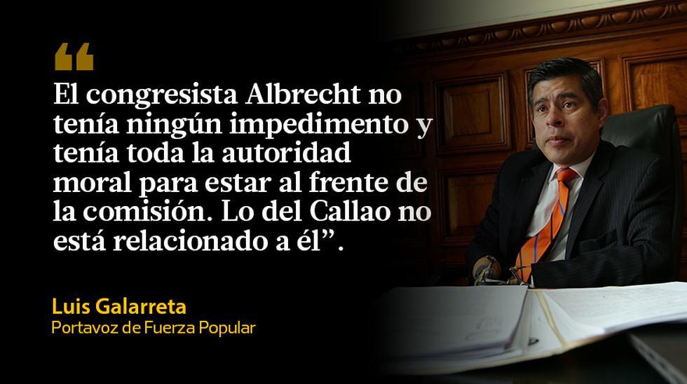 Comisión Lava Jato: las reacciones por la renuncia de Albrecht - 3