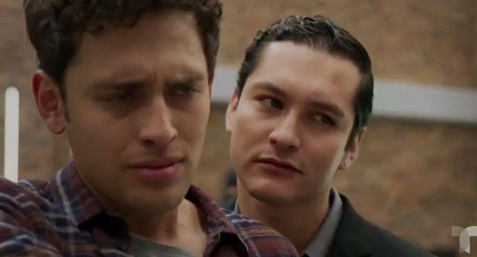 Alex y Sebastián han confesado que ellos mantienen una relación amorosa (Foto: Telemundo)