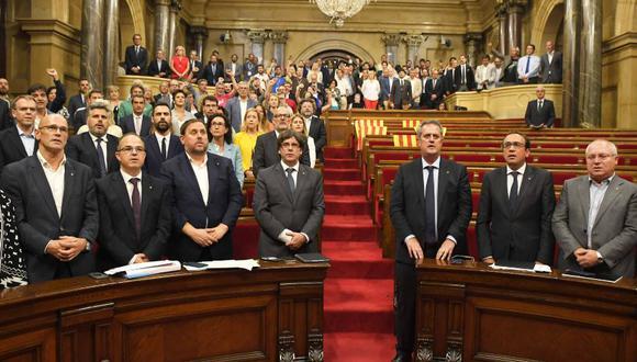 A pesar del rechazo por parte del gobierno español esta decisión se tomó con una amplia mayoría en el Parlamento. (Foto: AFP)