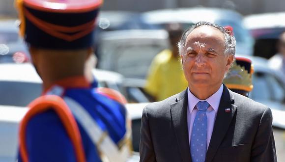 """El canciller Ribera enfatizó: """"No hay cambio alguno en la comparecencia de las economías APEC"""". (Foto: AFP)"""