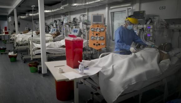 Coronavirus en Argentina   Últimas noticias   Último minuto: reporte de infectados y muertos hoy, viernes 26 de marzo del 2021  Covid-19   (Foto: AP/Natacha Pisarenko).
